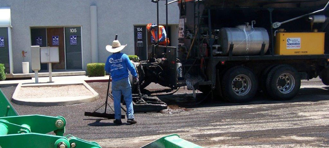 Slurry Seal in Phoenix Arizona